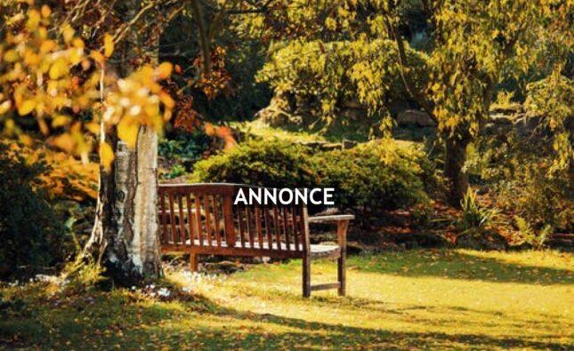 Köp en trädgårdsbänk till din uteplats