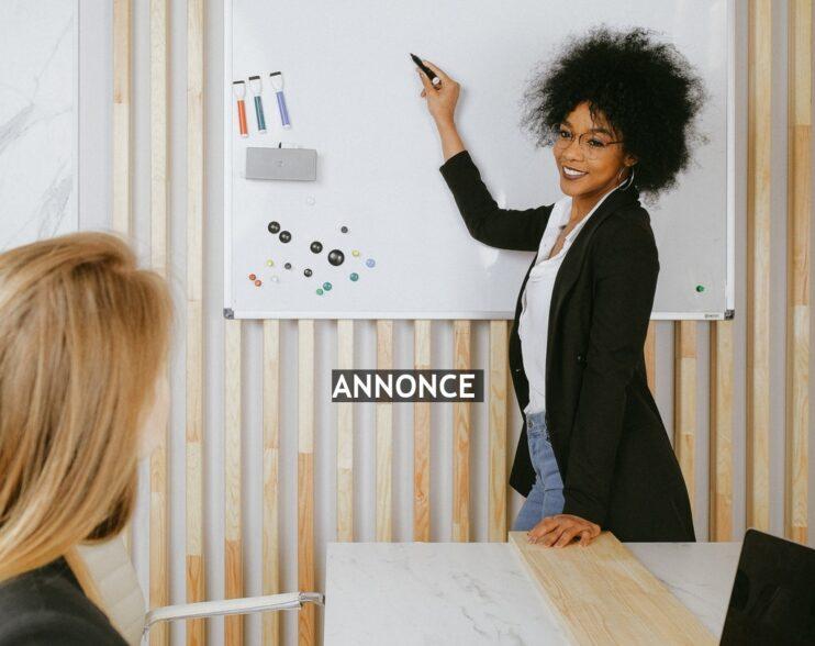 Smart använda sig av en whiteboard